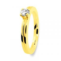 Solitaire 40130020 2.5 mm 1 brillant or jaune