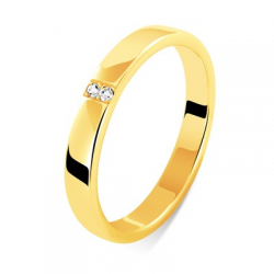 Celeste 0,02 ct or jaune