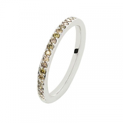 Coralie Diamants chocolats Or blanc