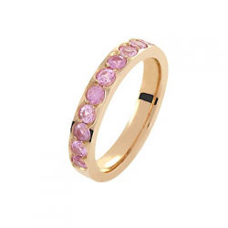 Coralie Saphirs roses Or rose