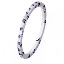 Diana Tour Complet Saphirs bleus Or blanc