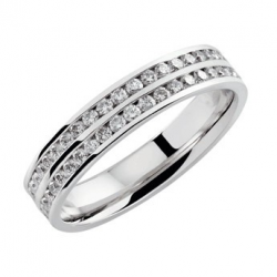 Rive Droite 0,9 ct Or blanc