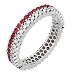 Twin Petit Modèle Diamants & Rubis