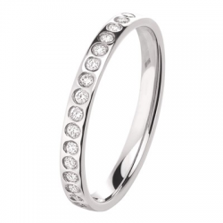 Alliance Bulle 0,18 ct Diamants Or blanc