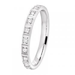 Nikki 0,10 ct Diamants Or blanc