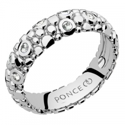Galucha MM Diamants Or blanc