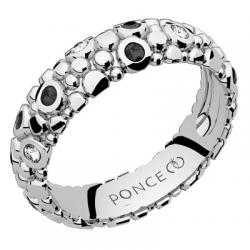 Galucha MM Diamants & Diamants Noirs Or blanc