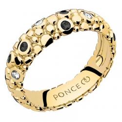 Galucha MM Diamants & Diamants Noirs Or jaune
