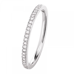 Mini Coralie 0,14 ct Diamants Or blanc