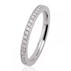 Coralie 0.40 ct Diamants Tour complet Or Blanc