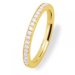 Coralie 0.40 ct Diamants Tour complet Or jaune