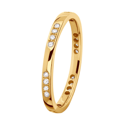 Alliance Alexa 0,24 ct Diamants Or jaune