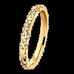 Poussière Etoile 0,41 ct Diamants Or jaune