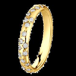 Poussière Etoile 0,21 ct Diamants Or jaune