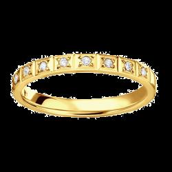 Nikki 0,15 ct Diamants Or jaune