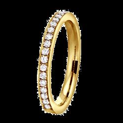 Coralie 0,25 ct Diamants Or jaune