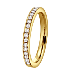 Coralie 0.50 ct Diamants Tour Complet Or jaune