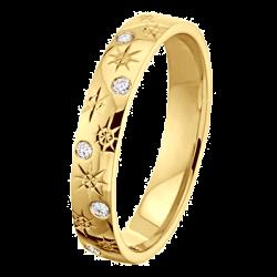 Alliance Joyce 0,06 ct Diamants Or jaune