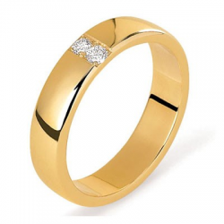 Celeste 0,08 ct or jaune