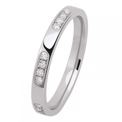 Alliance Alexa 0,12 ct Diamants Or blanc